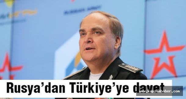 Rusya'dan Türkiye'ye davet
