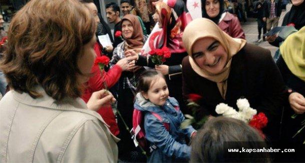 Saadet Partisi Kadın kolları Genel Başkanı Samsun'da