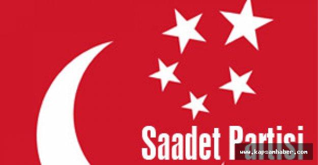 Saadet Partisi: ülke menfaatine göre hareket edilmeli
