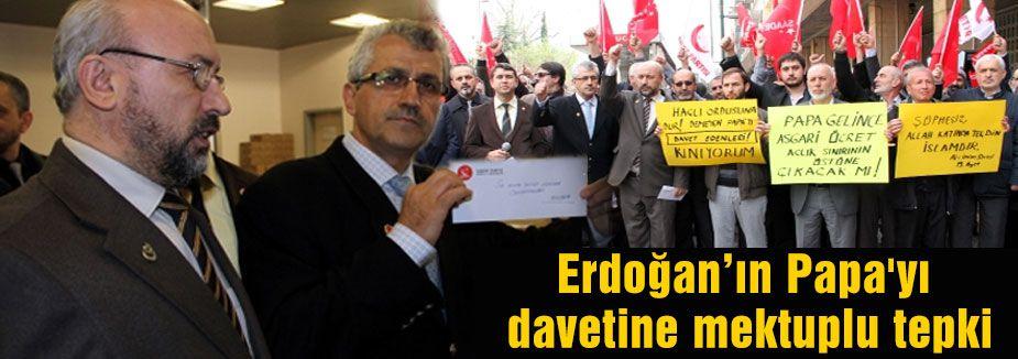Saadet Partisi'nden Erdoğan'a Tepki