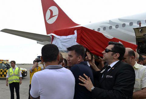 Saadettin Doğan'ın cenazesi Türkiye'ye getirildi