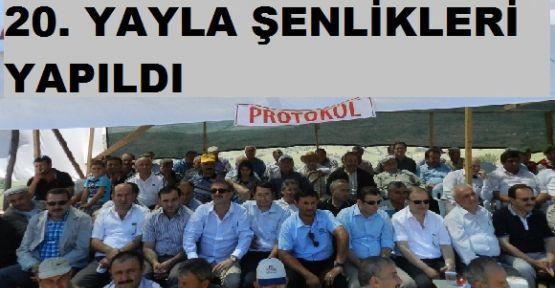 """Şaban Kılıç: """"Bengü 20. Yayla Şenliklerine katıldı"""