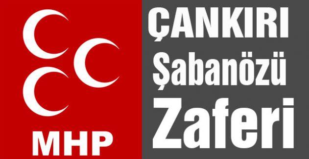 Şabanözü'nü MHP Kazandı