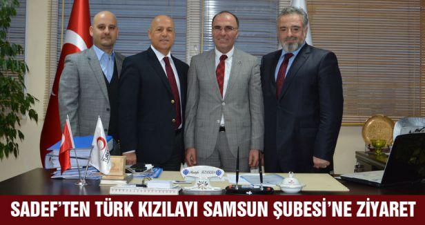SADEF SAMSUN TÜRK KIZILAYI'NI ZİYARET ETTİ