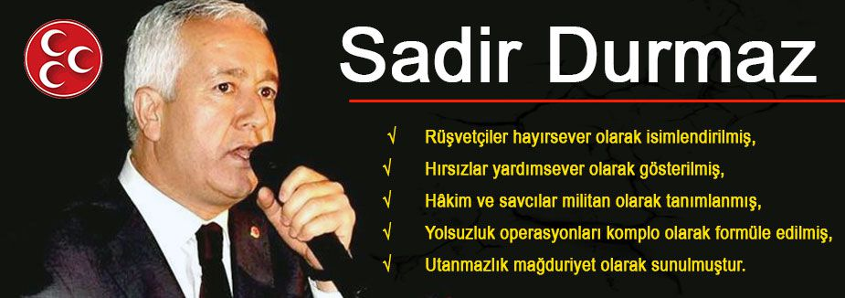 Sadir Durmaz'dan açıklama