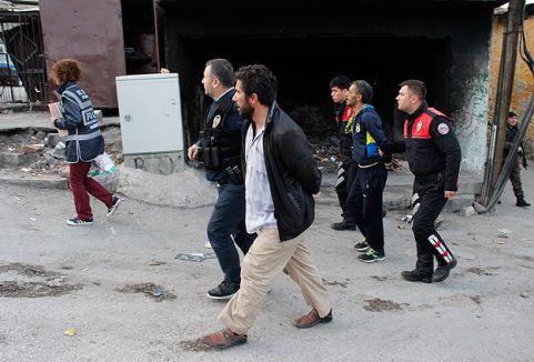 'Şafak Operasyonu'nda 4 kişi gözaltına alındı