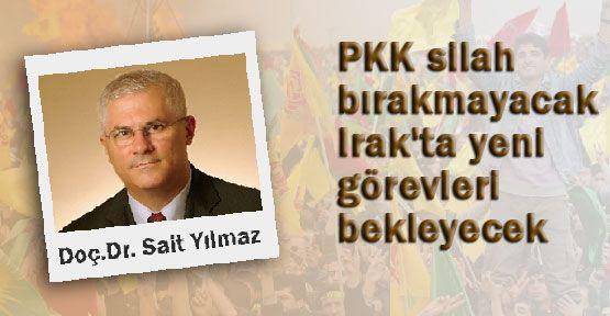 Sait Yılmaz: PKK'nın Şantaj Yaptığını İleri Sürdü