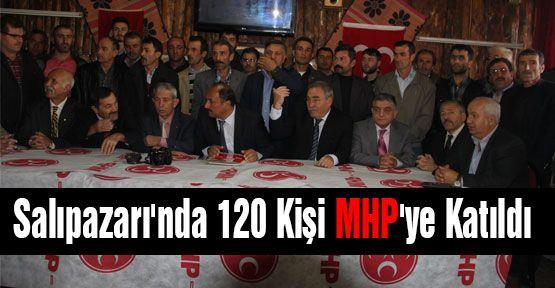 Salıpazarı'da 120 Kişi MHP'ye Katıldı