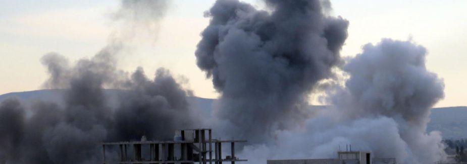 Şam'a misket bombasıyla saldırı...