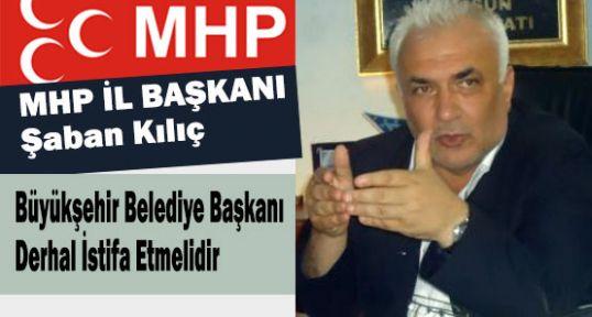 Samsun Büyükşehir Belediye Başkanı Derhal İstifa Etmelidir