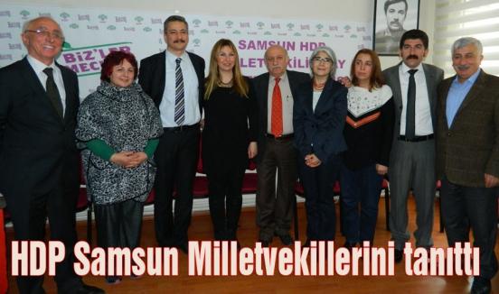 Samsun HDP Milletvekillerini tanıttı