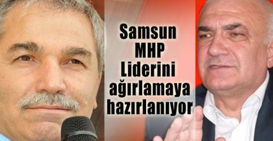 Samsun MHP Liderini Ağırlamaya Hazırlanıyor