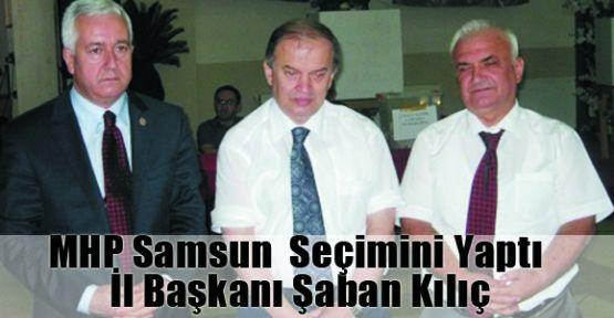 Samsun  MHP Şaban Kılıç dedi