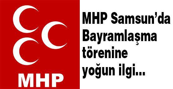 Samsun MHP'de Bayram Kutlaması