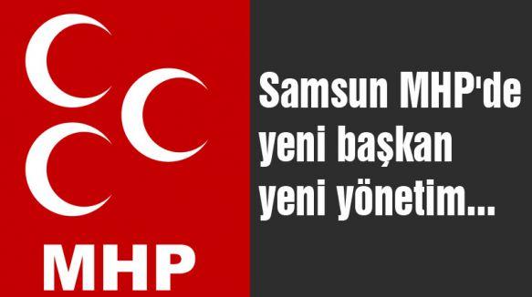 Samsun MHP'de Yeni Başkan Yeni Yönetim