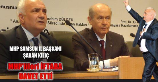 Samsun MHP'nin Şahlanış iftarı