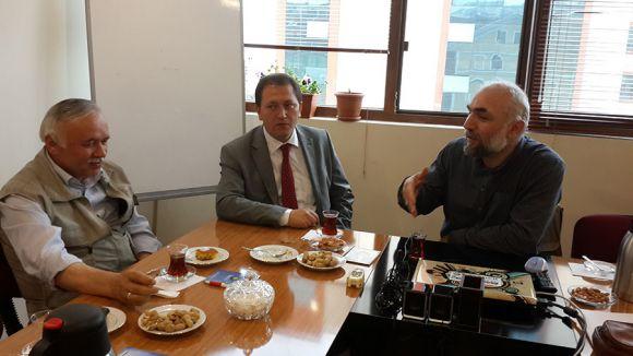 Samsun Milli Eğitim Müdürü Dos-Der'i ziyaret etti