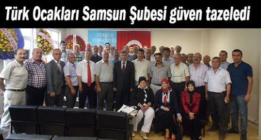 Samsun Türk Ocağı Güven Tazeledi