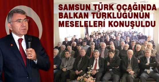 Samsun Türk Ocağında Balkan Türkleri Konferansı