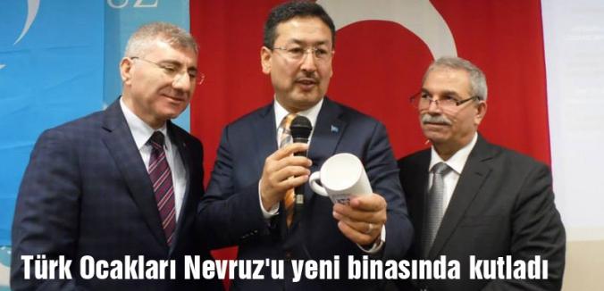 Samsun Türk Ocakları Nevruz'u yeni binasında kutladı