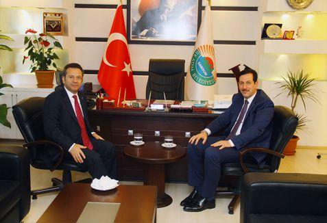 Samsun Valisi İlkadım Belediyesini Ziyaret Etti