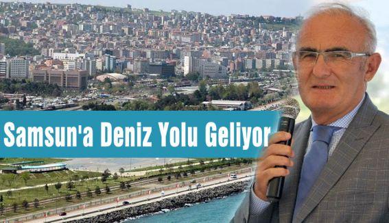 Samsun'a Deniz Yolu Geliyor