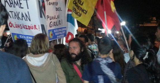 Samsun'da Ahmet Atakan İçin Eylem...