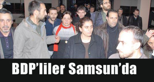 Samsun'da  BDP'lilerden açıklama