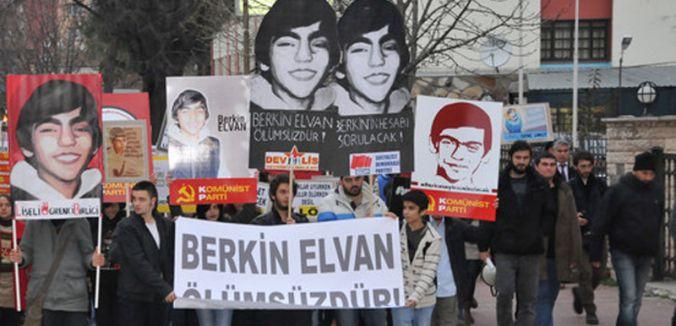 Samsun'da Berkin Elvan yürüyüşü