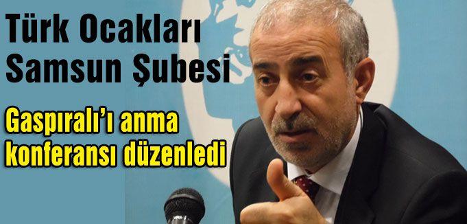 Samsun'da İsmail Gaspıralı'ı Anma Konferansı