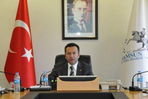Samsun'da kapanan kurumların malları dağıtıldı