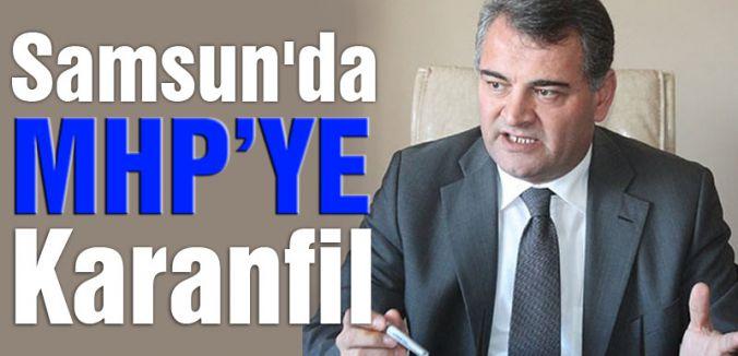 Samsun'da MHP'ye Karanfil