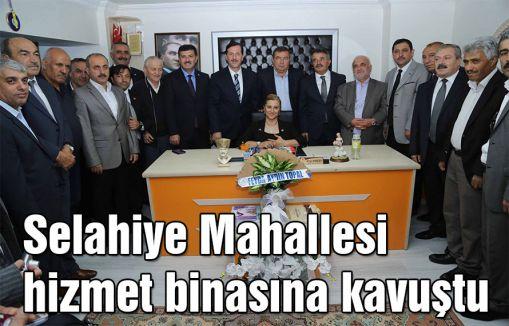 Samsun'da Muhtara yeni hizmet binası...