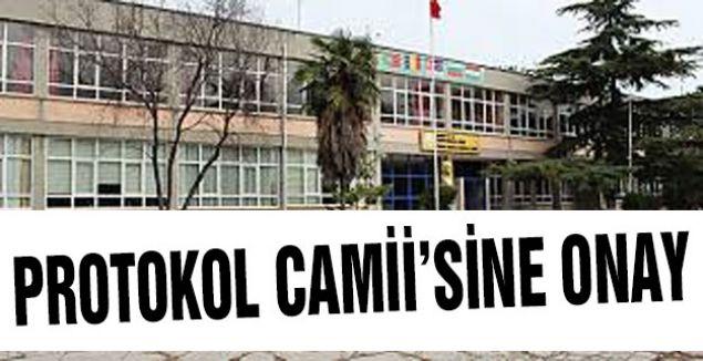 Samsun'da Protokol Camii'ne Onay