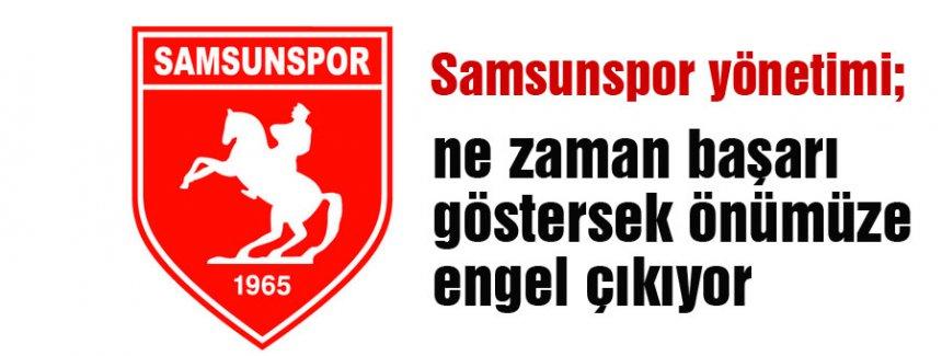 Samsunspor'dan  üç puan silme cezasına tepki