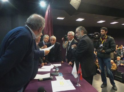 Samsunspor Kulübü Başkanı İsmail Erkut Tutu seçildi
