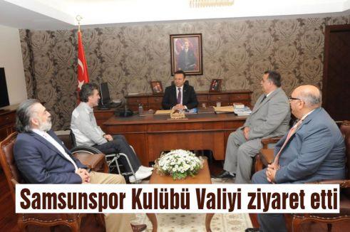 Samsunspor Kulübünden Valiye Ziyaret