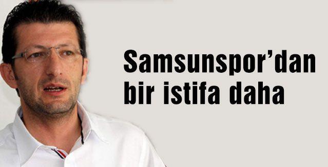 Samsunspor'da Atlı istifası...