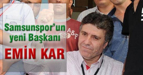 Samsunspor'un Yeni Başkanı Emin Kar