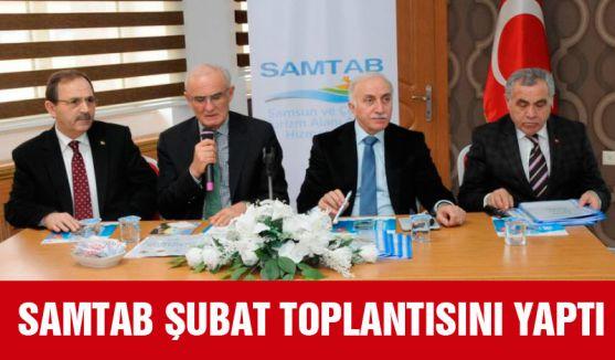 SAMTAB ŞUBAT TOPLANTISINI YAPTI