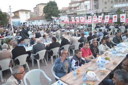 Sarıkaya'da Şehit Aileleri ve Gazilerle iftar