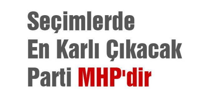 Seçimlerde En Karlı Çıkacak Parti MHP'dir