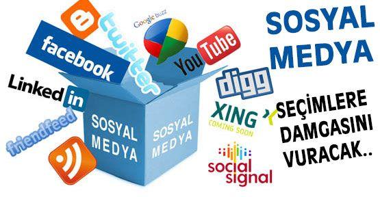 Seçimlerde  Sosyal medya etkili olacak