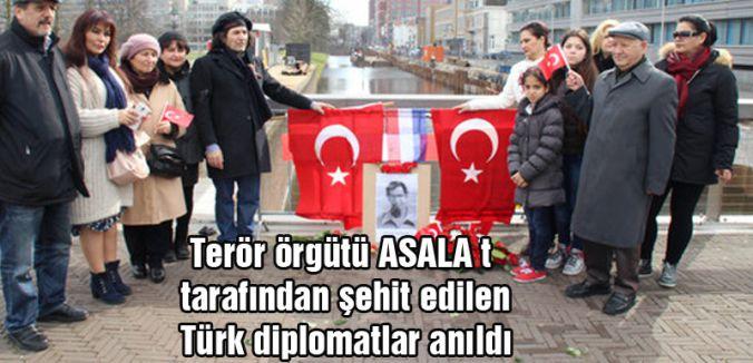 Şehit Türk diplomatlar Anıldı...
