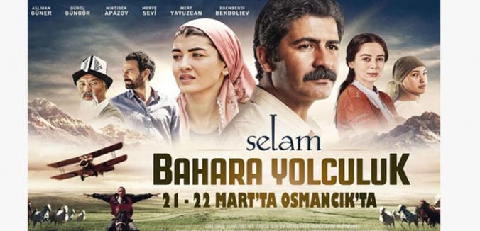 Selam Bahara Yolculuk filmi Osmancık'ta...