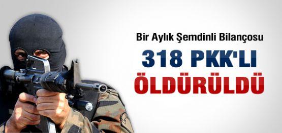 Şemdinli de Öldürülen PKK'lı Sayısı !