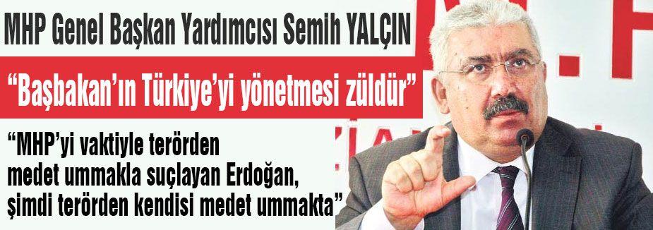 Semih Yalçın'dan Erdoğan'a Cevap