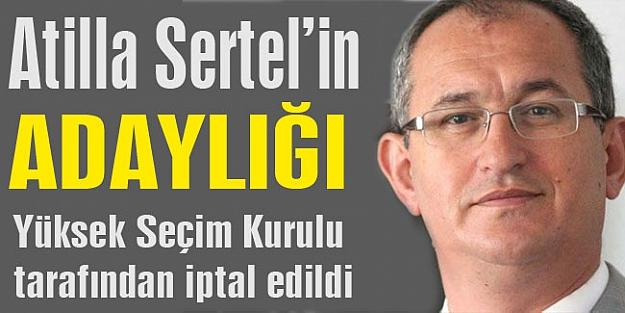 Sertel: Üç CHP'li şikayet etti