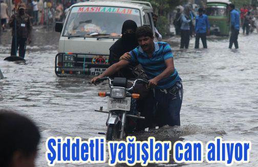 Şiddetli yağışlar can alıyor