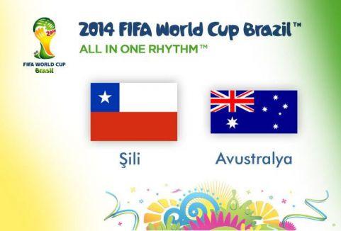 Şili Avustralya'yı 3-1 yendi